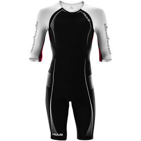 HUUB Anemoi Aero Tri Suit Heren, black/white